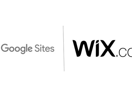 WiX vs Google Sites - A Detailed Comparison