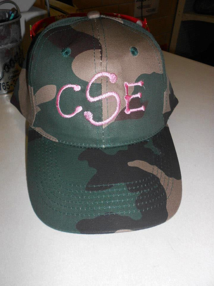 Hat monogram
