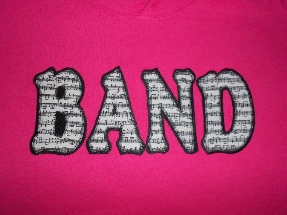Band applique