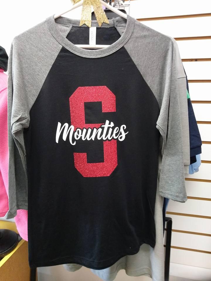 Glitter Mounties