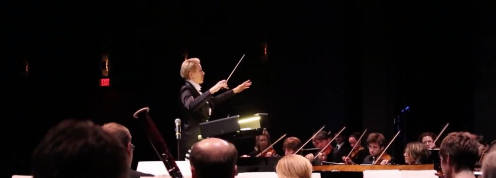 Nadia Artman's Conducting Debut