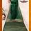 Thumbnail: Bottle Green Resham Border Naksham Silk Saree
