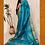 Thumbnail: Firozi Blue Paithini Border Tussar Silk Saree
