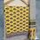 Thumbnail: Lemon Yellow Block Print 3 Piece Unstitched Suit