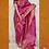 Thumbnail: Fuschia ( Rani) Pink Paithini Border Tussar Silk Saree