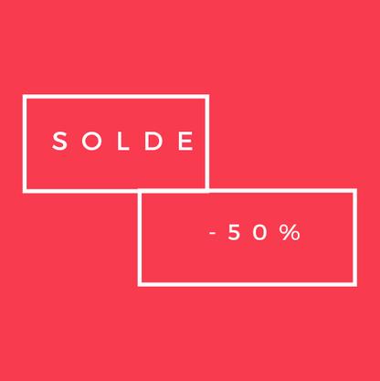 Solde -50%