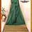 Thumbnail: Bottle Green and Sand Naksham Silk Saree