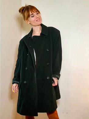 Manteau en laine et cachemire[M-L]