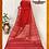 Thumbnail: Red Resham Border Naksham Silk Saree
