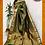 Thumbnail: Bottle Green Kanjivaram Jamawar Pure Silk Saree