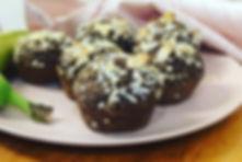 muffin protéiné au double chocolat