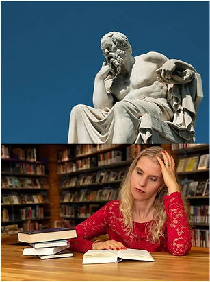 Net zo slim als Socrates