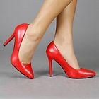 Haar rode pumps