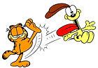 Garfield en Odie
