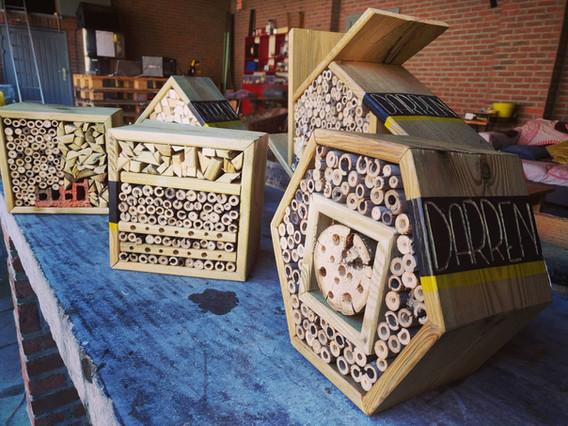 DARREN. bijenhotel