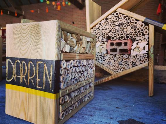 Bijenhotel voor elke klant