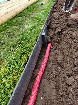 Ecolat met wachtbuis voor tuinverlichting
