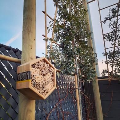 Steeneik Leibomen met DARREN Bijenhotel