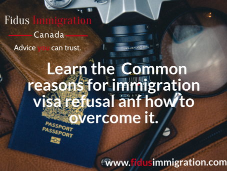 Learn the Common Reasons for Immigration Visa Refusal and How to Overcome it.