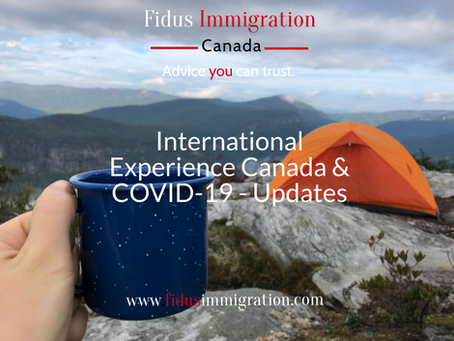 International Experience Canada & COVID-19 - Updates