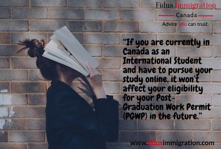 How the Coronavirus disease (COVID-19) is affecting immigration. Part II: International Student.