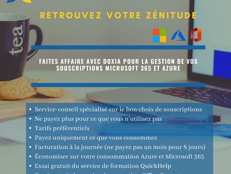 Retrouvez votre zénitude grace à Doxia et son service de revente Microsoft