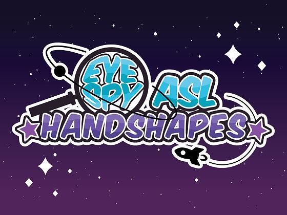 Eye Spy ASL Handshapes App