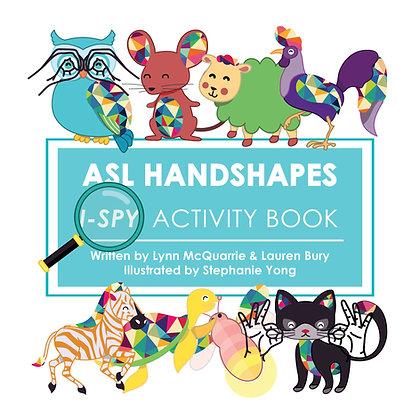 ASL Handshapes I-Spy Activity Book