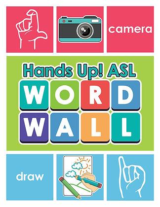 HandsUP! ASL Word Wall