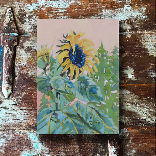 """""""Sunflower in the Pines"""" Print"""