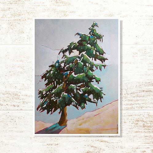 """Lone Pine"" Notecard"