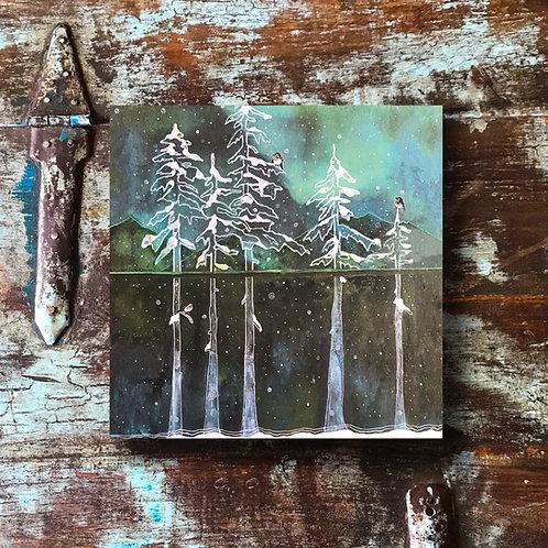 """""""Snowy Trees"""" Print"""