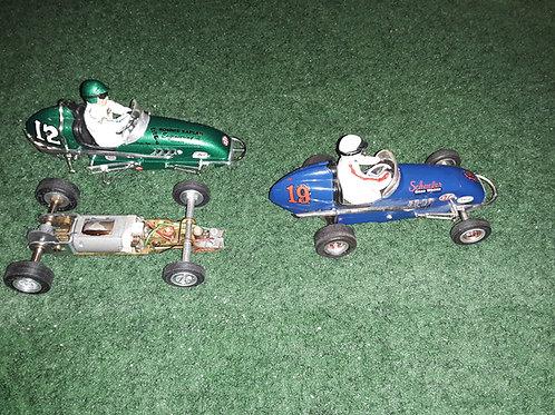 Monogram - Midget Racers- 2 Slot cars