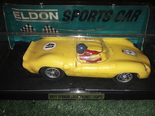 Eldon 3921 Ferrari Selectronic Light Slot Car