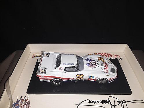 GREENWOOD CORVETTE SPIRIT OF LE MANS '76 REVELLE MONOGRAM SLOT CAR