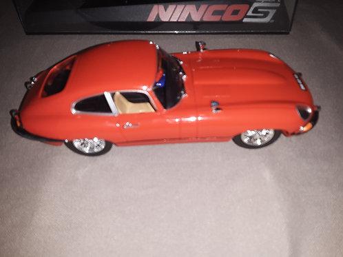 Ninco 50579 1 32 Jaguar E-Type Coupe Road Car Red