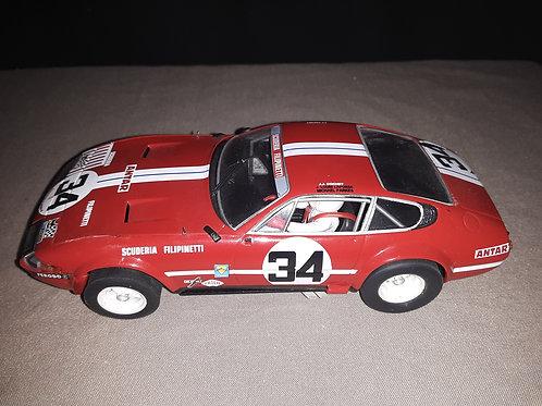 Fly Ferrari 365 GTB #34 DAYTONA Le Mans 1972 A656 MB, 1/32 slot car.