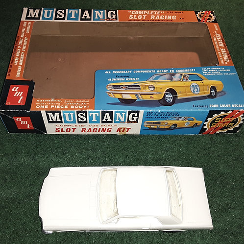 AMT Mustang Hard Top 1/25th Scale Slot Car