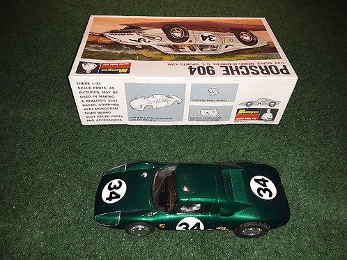 Monogram Porsche 904 1/24th Scale Model Carrera GT Sports Car