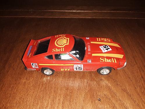 Scalextric - Datsun GTI 260 #15 shell Orange Scale 1/32 Slot Car