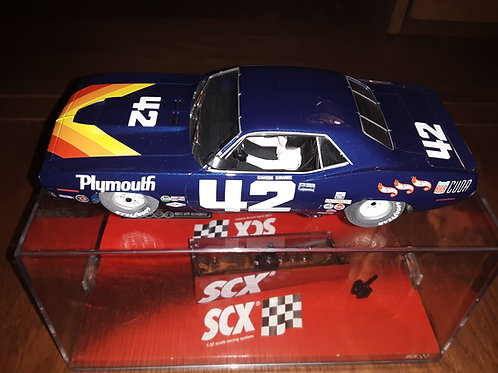 SCX Plymouth Barracuda Scale 1/32 Slot Car #42