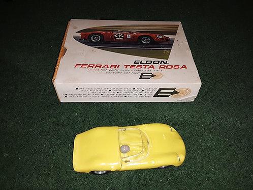 Eldon Ferrari Testa Rosa scale 1/32 Slot Car