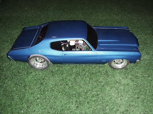 Custom Chevy 70's Malibu Slot Car