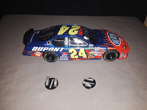 Scalextric C2597 Chevy Monte Carlo #24, DuPont 1/32 Scale