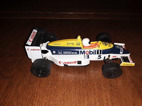 Scalextric - Brittian - formula #5 honda   C426 - Williams Honda FW11