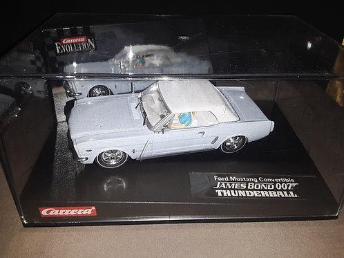 Carrera Evolution *NEW* 1/32  25738 Ford Mustang Convertible James Bond 007 Thun