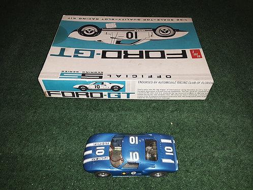 AMT Official Super Sebring Series Ford GT Slot Car