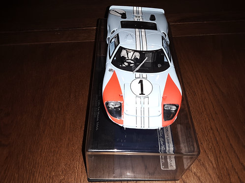 FLY Ford GT40 Scale 1/32 Slot Car MKII 1966 Le Mans #1