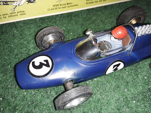 Revell Model Racer Grand Prix Lotus - Ford Kit 1/25th Scale with the SP 500 Moto