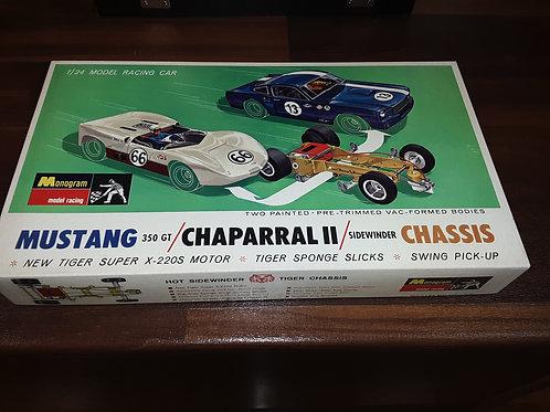 Monogram - Mustang 350GT Chaparral II Sidewinder Box Set